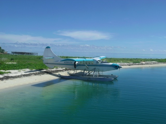 Another way to get to the Dry Tortugas