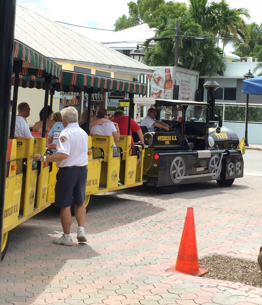 The Key West Conch Train. All aboard!