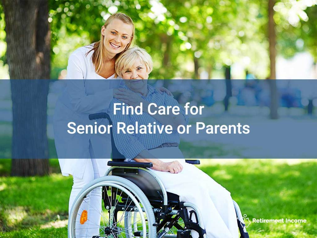 Find Care for Senior Relative or Parents