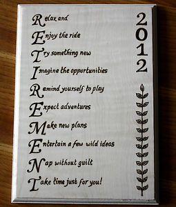 Retirement Poems - Retirement Card Messages