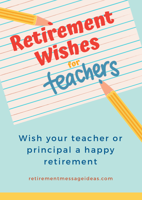 funny teacher retirement wishes