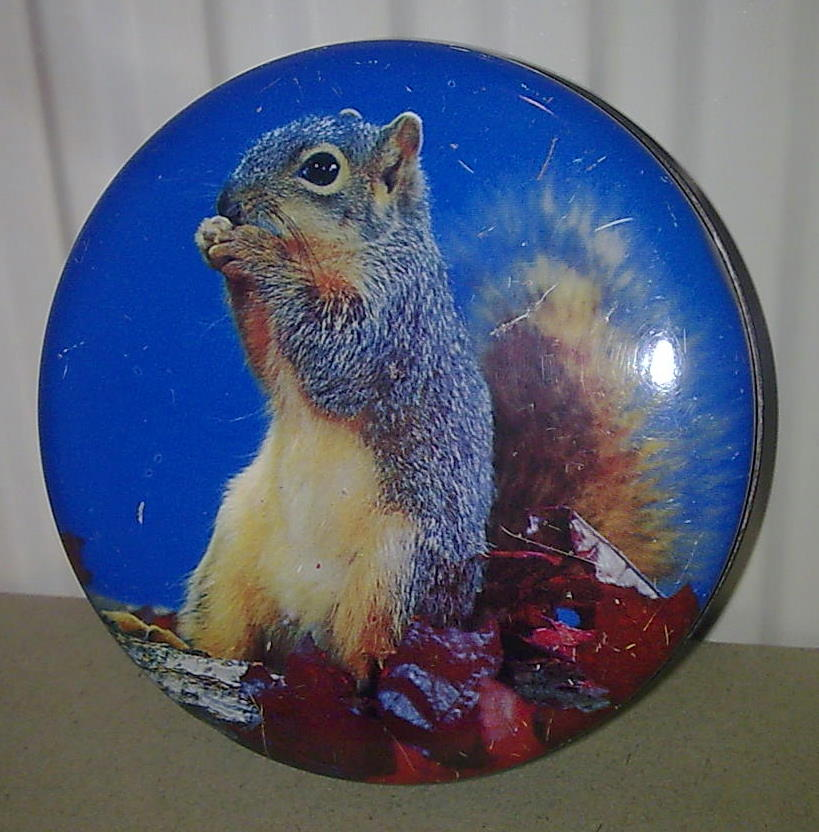 Vintage Toffee Sweet Tin Blue Bird Harry Vincent Parkes