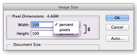Photoshop tutorial - Image size