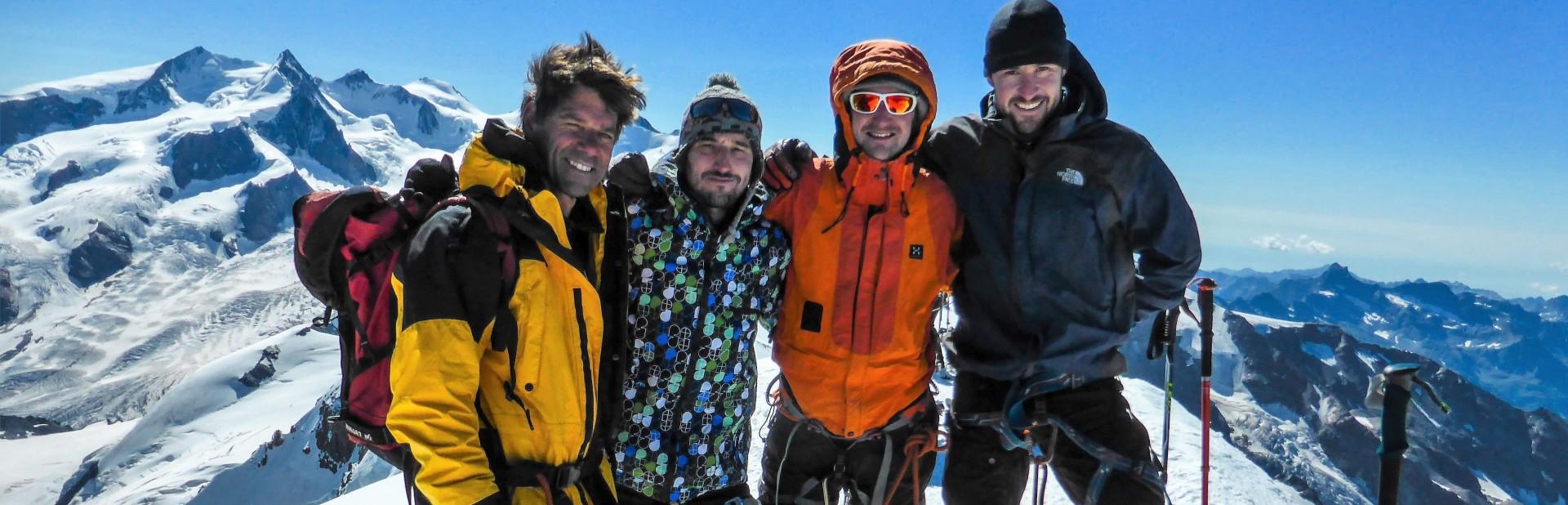 Monte Rosa - Retour Mountain Adventure
