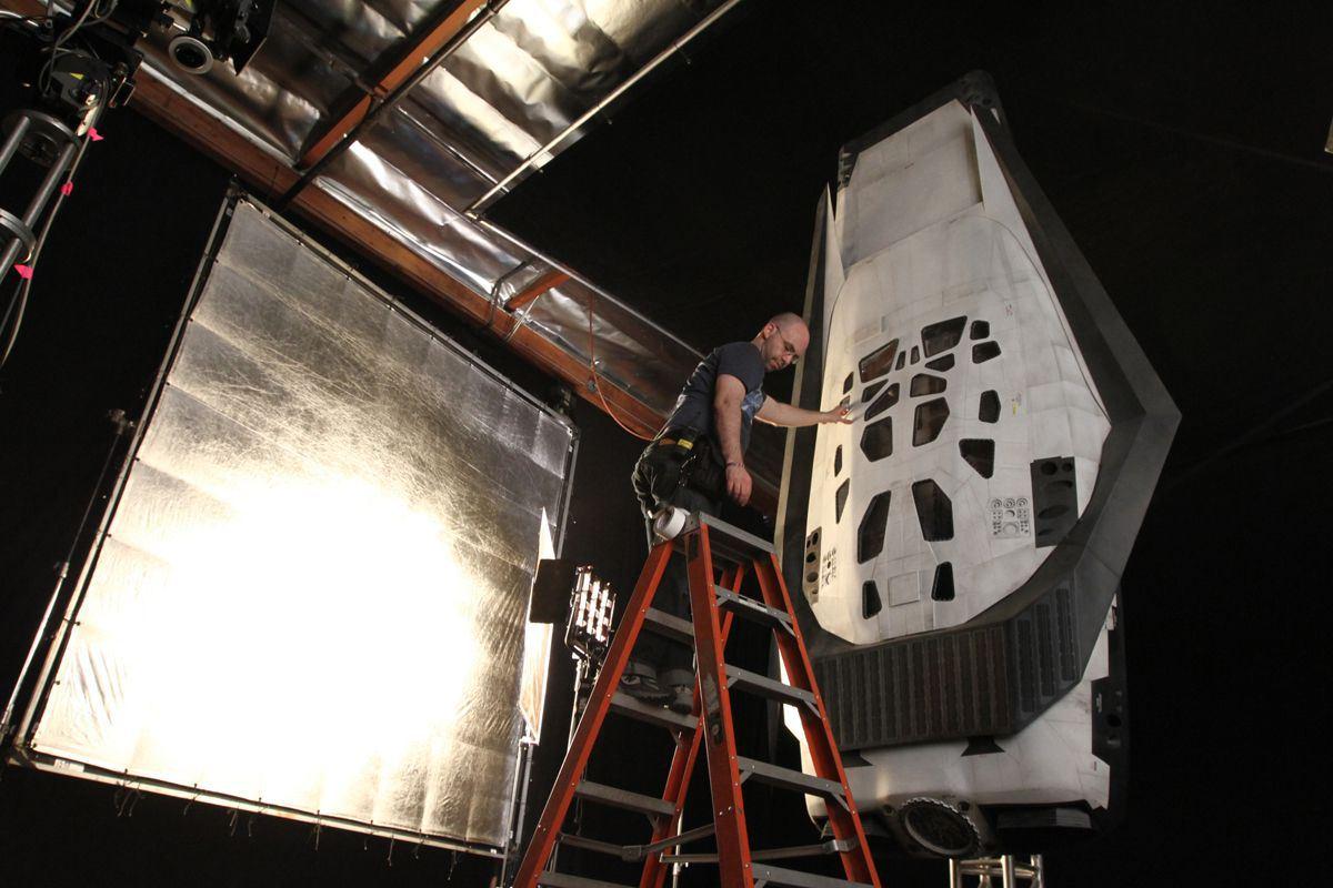 Maquette de navette spatiale
