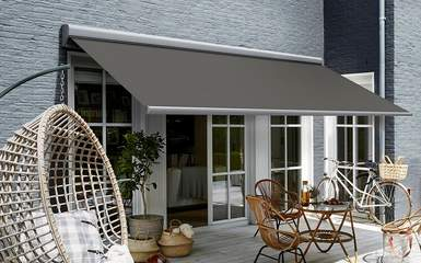 retractable electric awning products