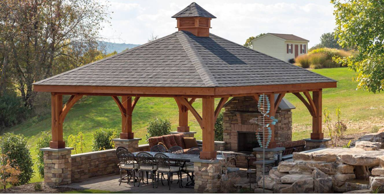 what is a pergola with a roof