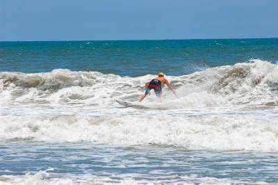 Ocean Isle Beach Surfer