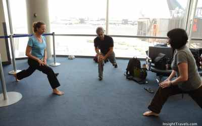 Airport Yoga Takes You Higher