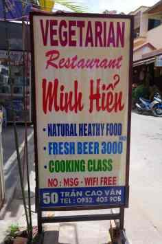 minh hein vegetarian restaurant hoi an
