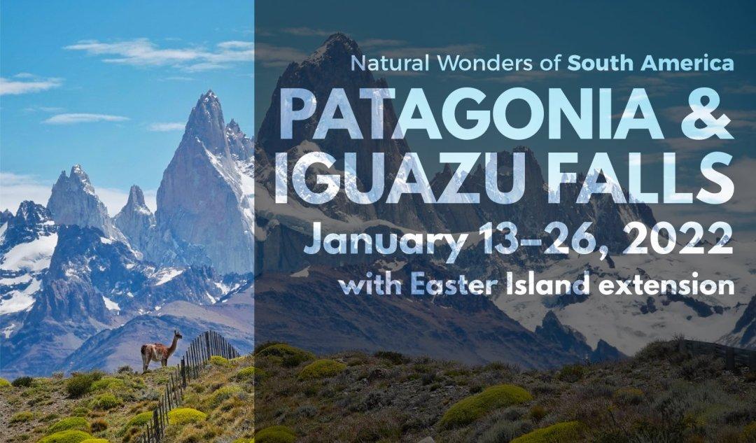 January 2022 Patagonia and Iguazu Falls vacation