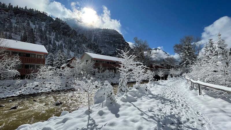 Snow at Ouray