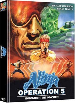 Ninja Operation 5: Godfather - Mediabook - Cover A - Limited Edition (+ Bonus-DVD)