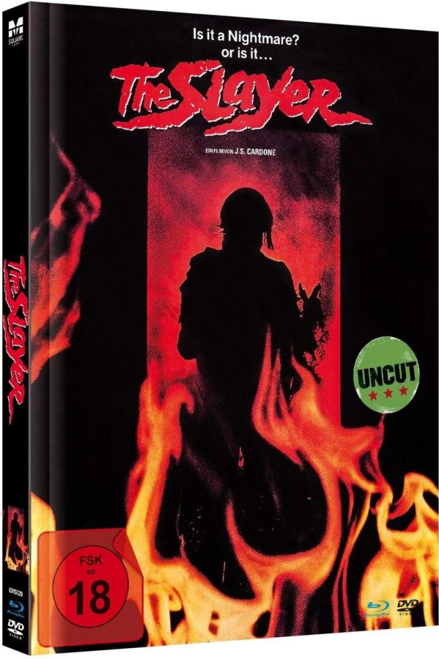 The Slayer - Uncut Limited Mediabook-Edition (Blu-ray+DVD plus Booklet/digital remastered)