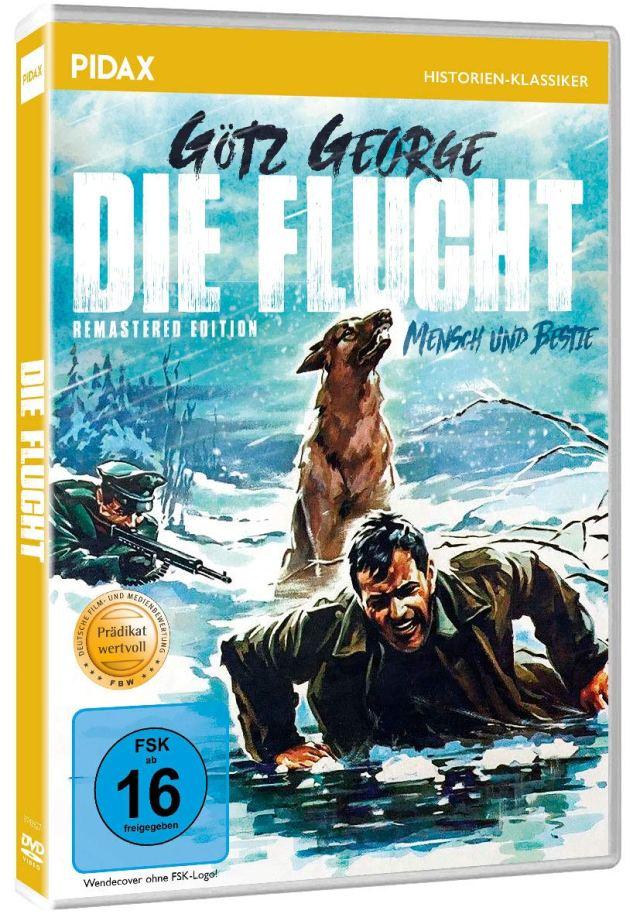 Die Flucht (Mensch und Bestie) - Remastered Edition / Mit dem PRÄDIKAT WERTVOLL ausgezeichnetes Kriegsdrama mit Starbesetzung (Pidax Historien-Klassiker)