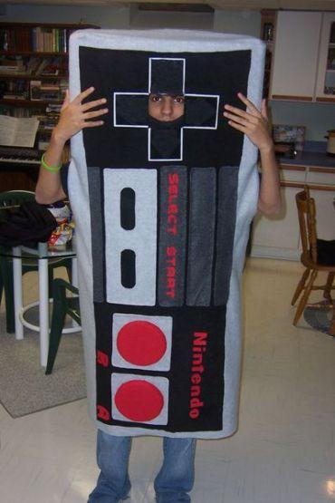 Costument en forme de manette Nes Nintendo