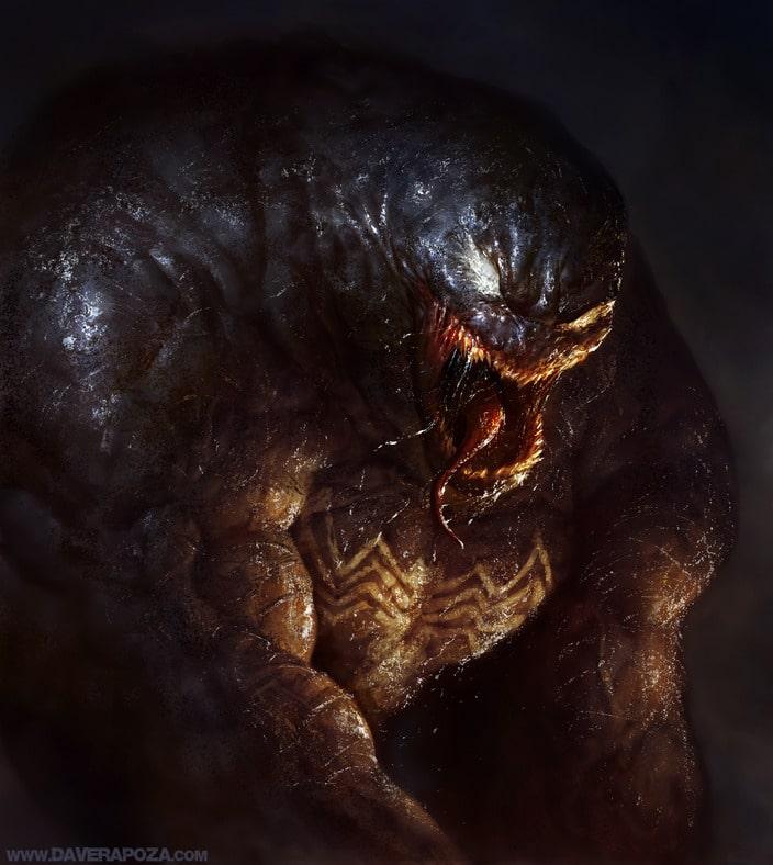 Artwork de Venom (Spider-Man) par Dave Rapoza
