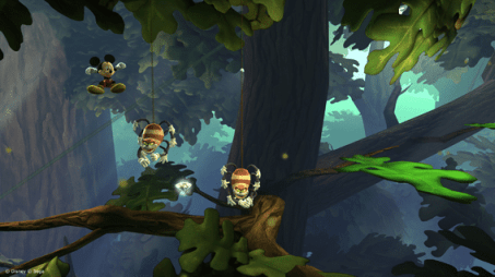 Niveau de la forêt dans Castle of Illusion sur Steam