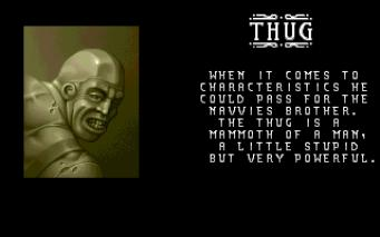 personnage Thug dans the Chaos Engine sur Amiga