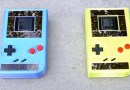 Game Boy alimentado por energia solar dispensa pilhas