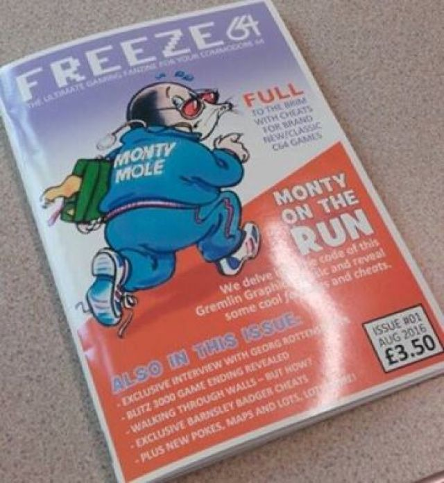 FREEZE 64 – new Commodore 64 fanzine – Retro Now!
