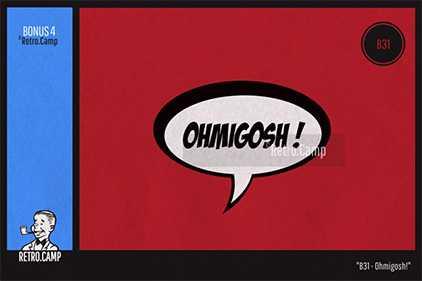 """Omigosh!"""