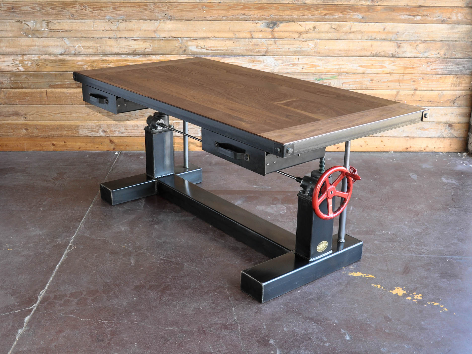 retro kitchen chairs for sale pub tables and target crank sit stand desk | vintage industrial furniture