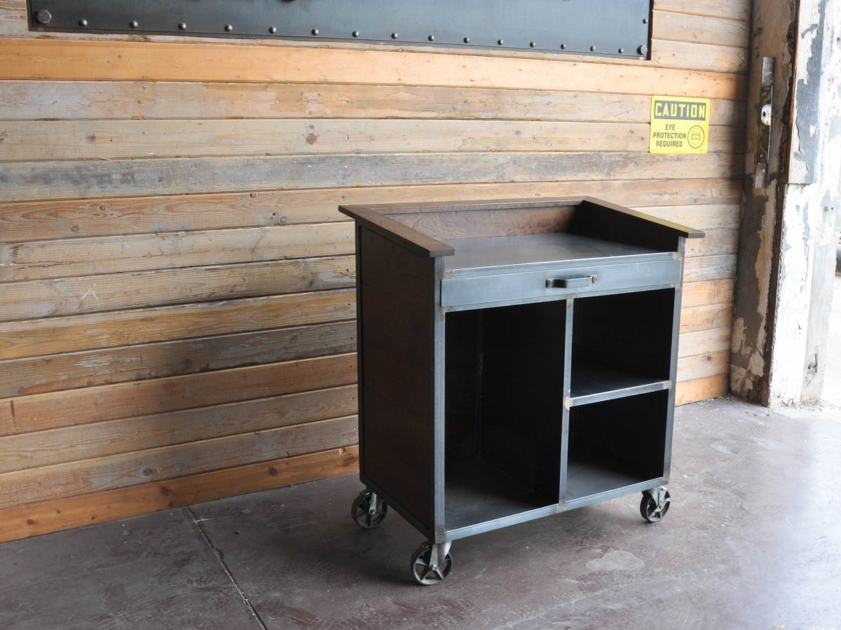 antique kitchen islands for sale small space table karl hostess stand | vintage industrial furniture
