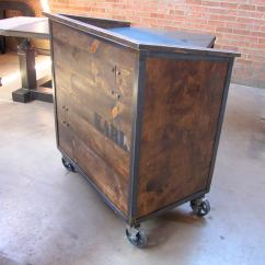 Antique Kitchen Cabinets For Sale Miele Appliances Karl Hostess Stand | Vintage Industrial Furniture