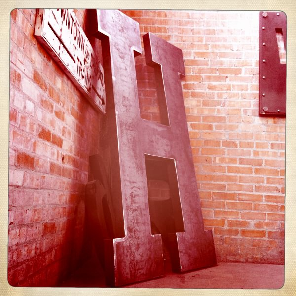 Letters And Numbers Vintage Industrial Furniture