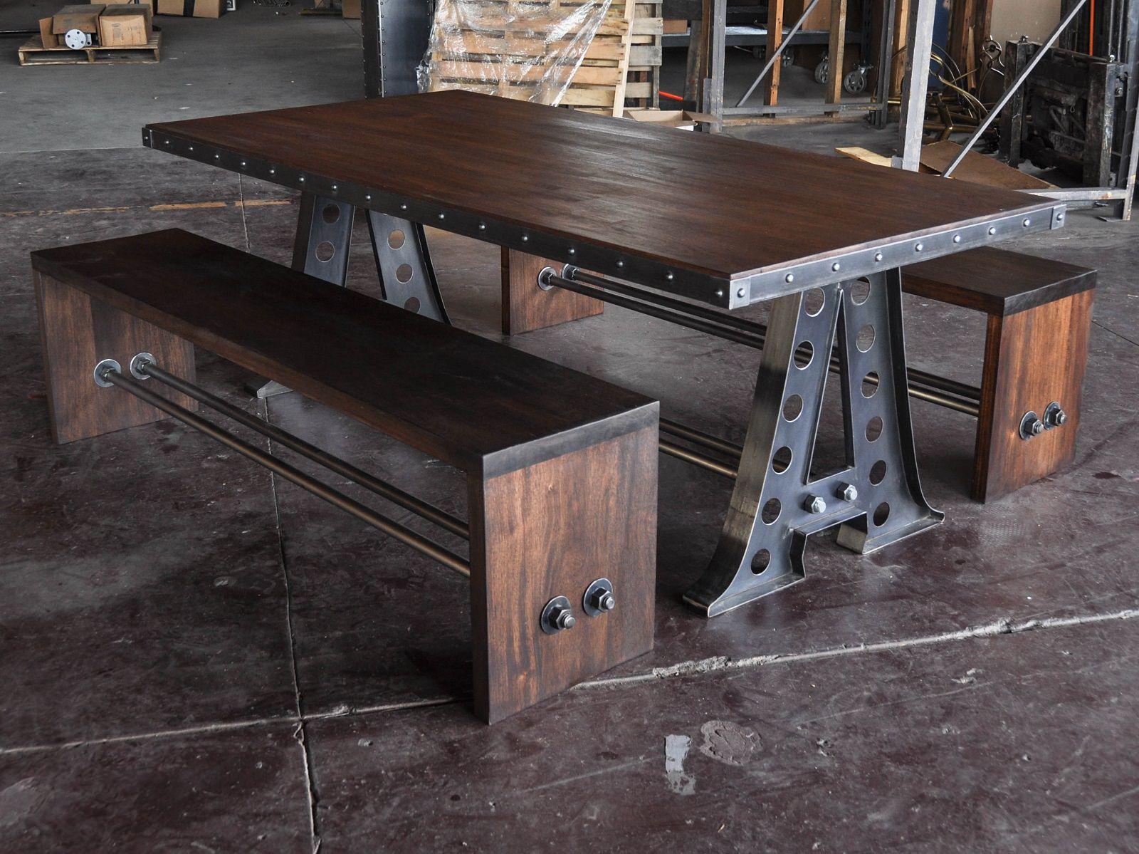 VI Bench  Vintage Industrial Furniture