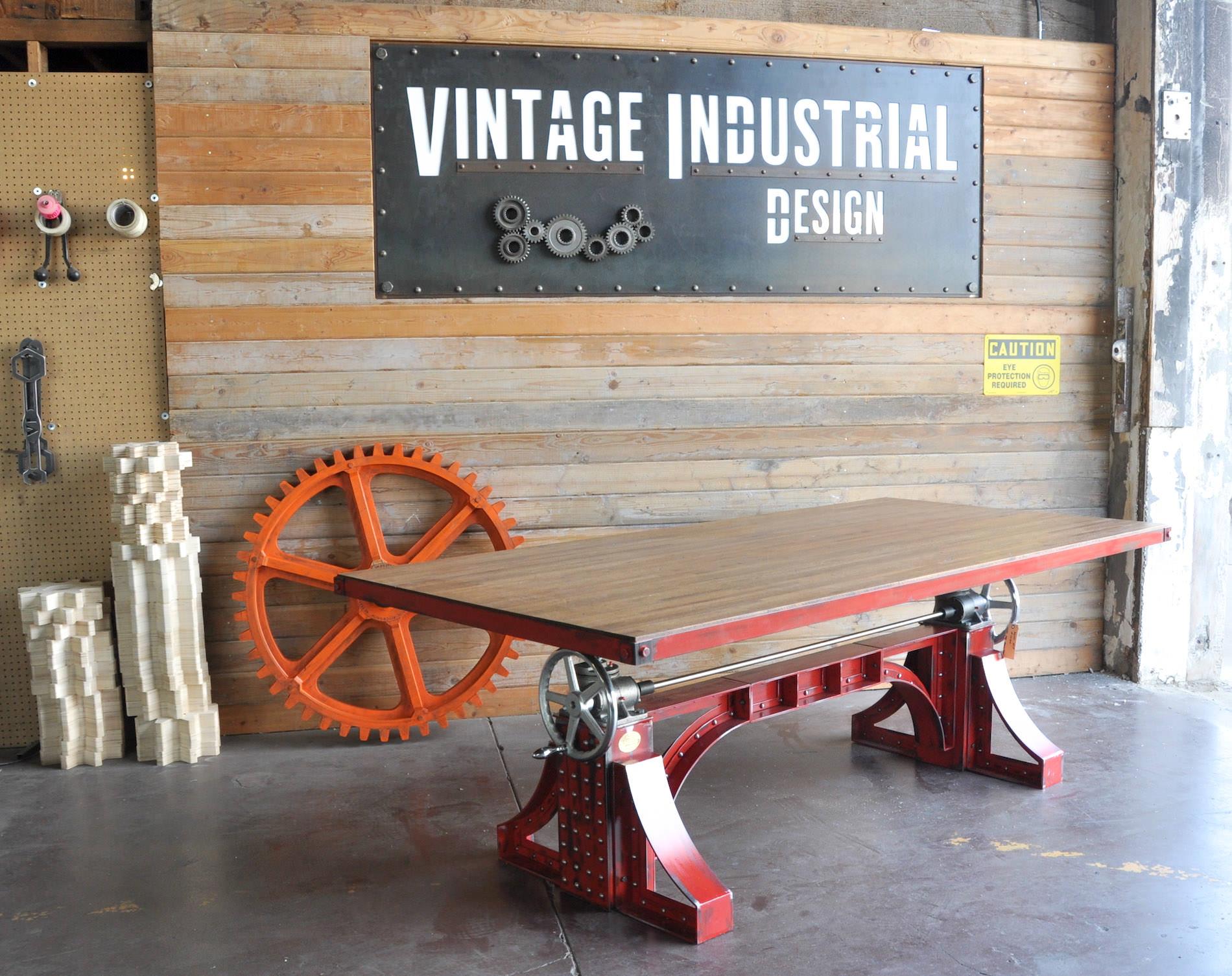 antique kitchen islands for sale cabinet prices custom vintage industrial sign | furniture