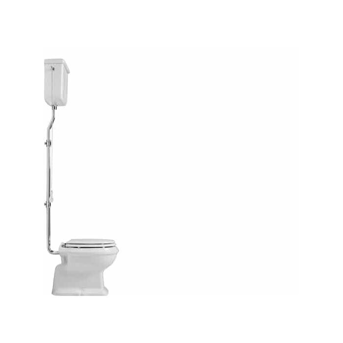 retro stand wc old england mit hochhangendem spulkasten