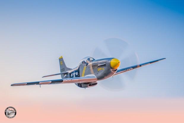 Fighter Pilot Adventure Flights' USAAF P-51D for RetroBomb Magazine editorial