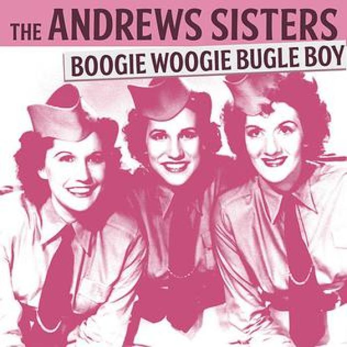 """Girl Group Performs Andrew Sisters Hit """"Boogie Woogie Bugle Boy"""" Like It's The 1940s Again"""