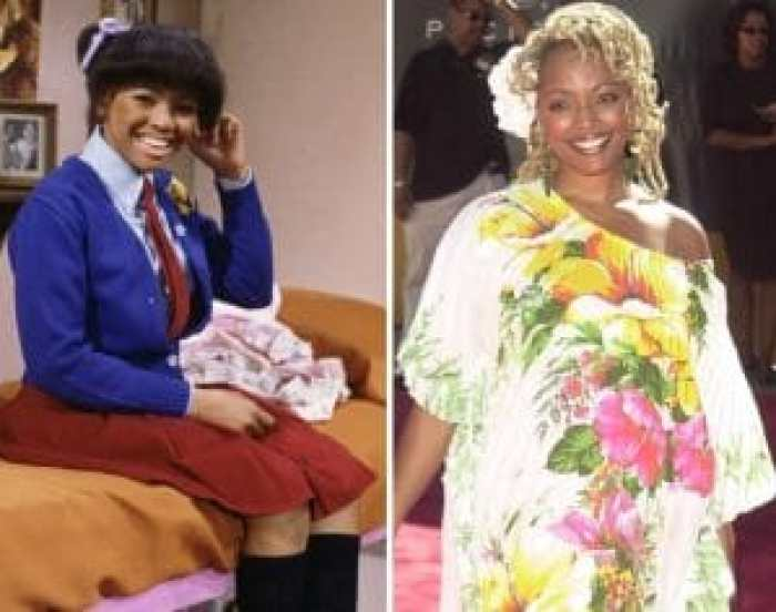 Kim Fields as Tootie, and today