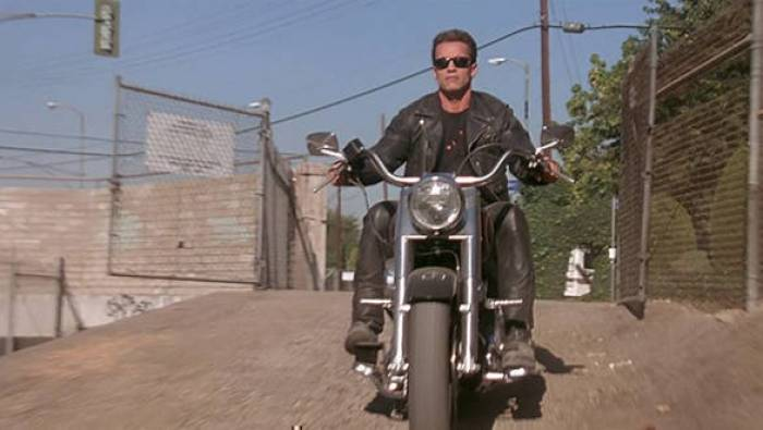 terminator two motorcycle