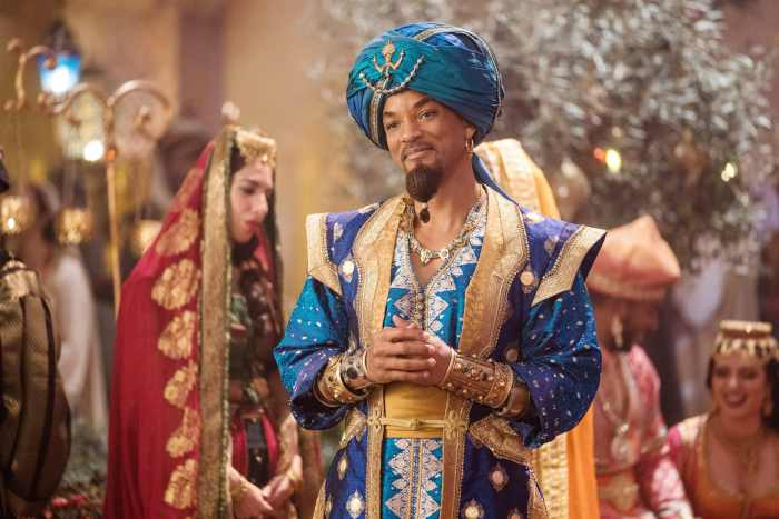 ALADDIN, Will Smith as Genie, 2019