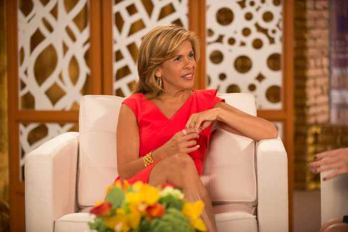 LAW AND ORDER: SVU, Hoda Kotb in 'Producer's Backend' (Season 16, Episode 3, aired October 8, 2014)