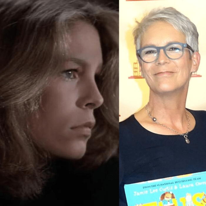 Jamie Lee Curtis went from blonde to gray beautifully.