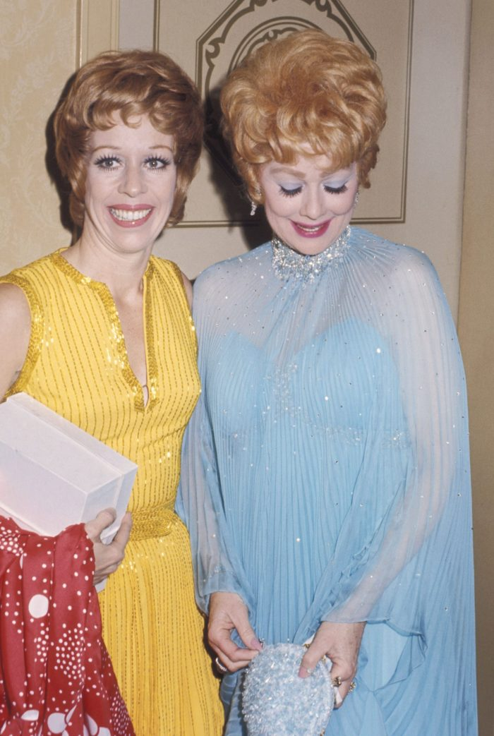carol burnett lucille ball