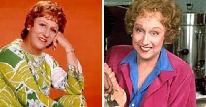 Jean Stapleton in the All in the Family cast and after