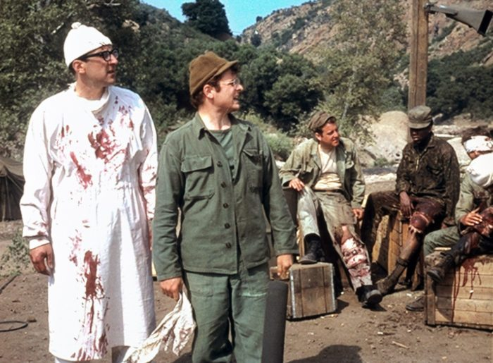 MASH, (aka M*A*S*H*), from left: Roger Bowen, Gary Burghoff, 1970