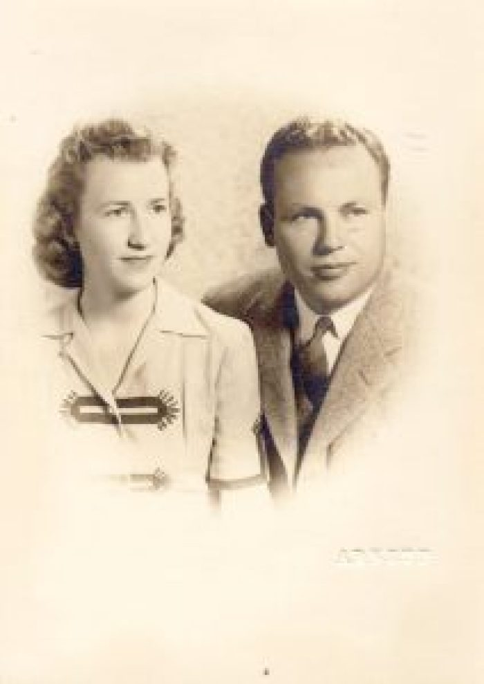 It was quite a different world when John and Charlotte Henderson first met