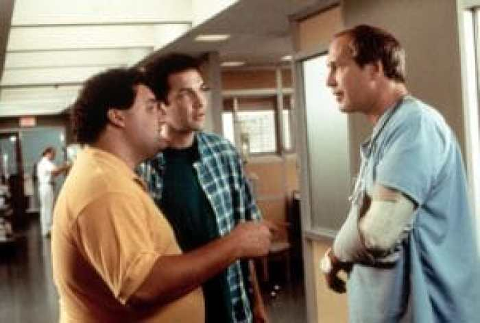 DIRTY WORK, Artie Lange, Norm McDonald, Chevy Chase