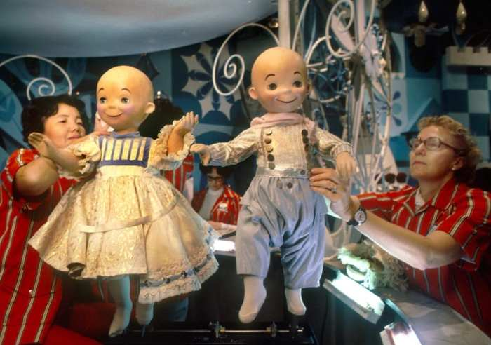 Original 'Small World' dolls
