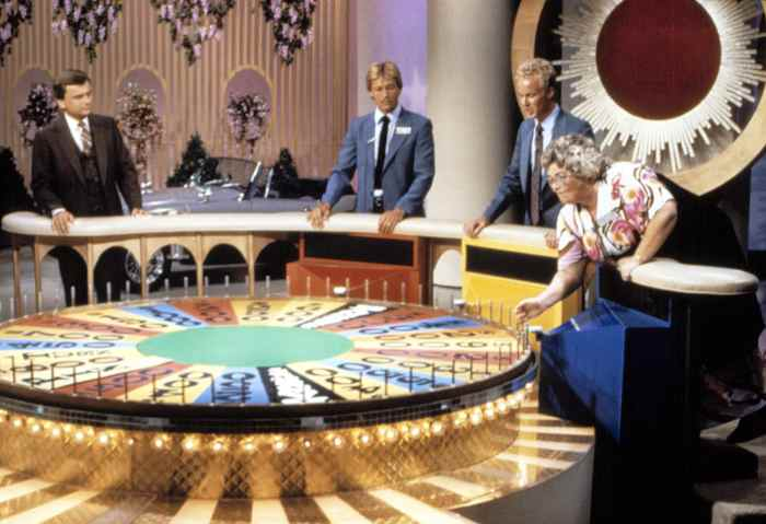 WHEEL OF FORTUNE, Host Pat Sajak, (circa early-1980s), 1975-