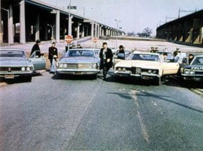 The movie's car chase is one of the most celebrated, but was one of the most dangerous to film