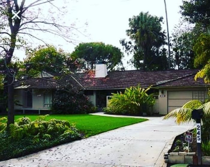 the golden girls house exterior los angeles