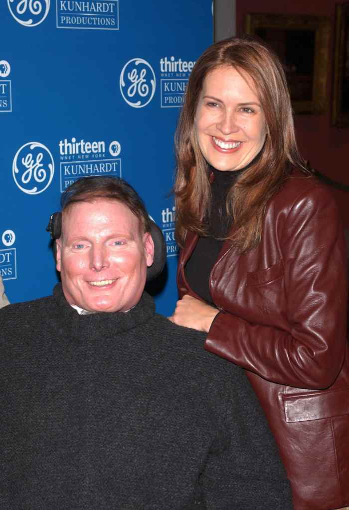 christopher and wife dana reeve